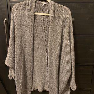 Tobi knitted grey cardigan